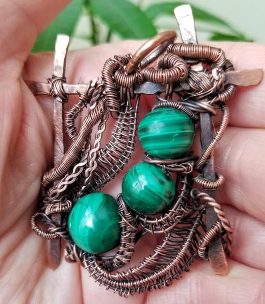 Antiqued Copper Jewelry