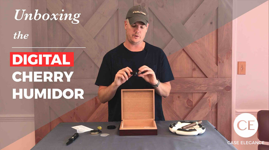 Unboxing & Seasoning the Digital Cherry Humidor