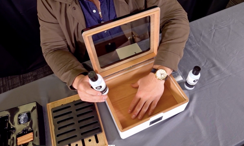 How to set up and season your humidor