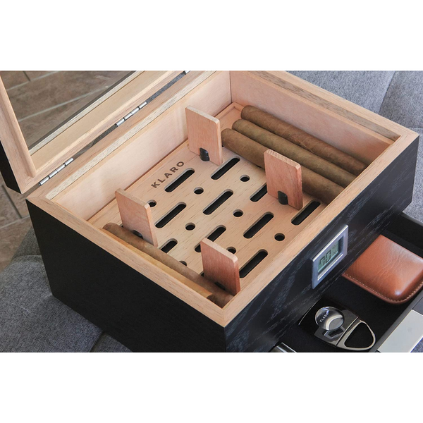 Mill Glass Top Humidor
