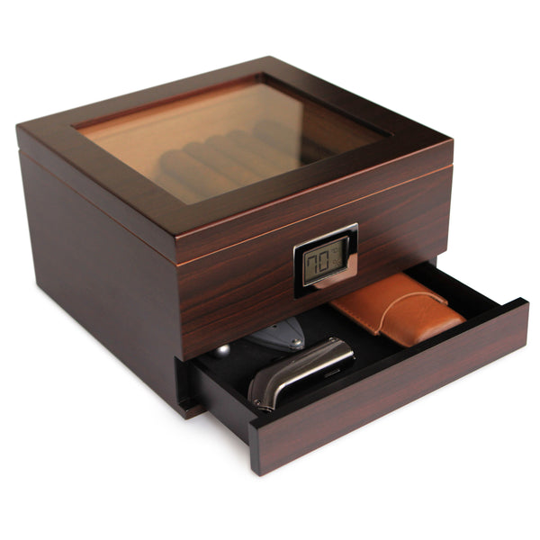 Renzo Glass Top Humidor