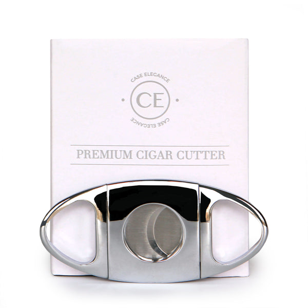Classic Cutter Stainless Steel Sharp Guillotine Blades with Polished Chrome Finish