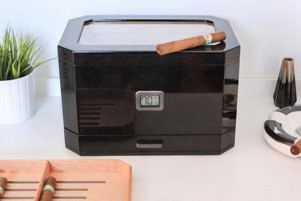 Octodor Large Glass Top Humidor