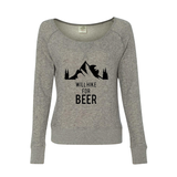 Will Hike For Beer