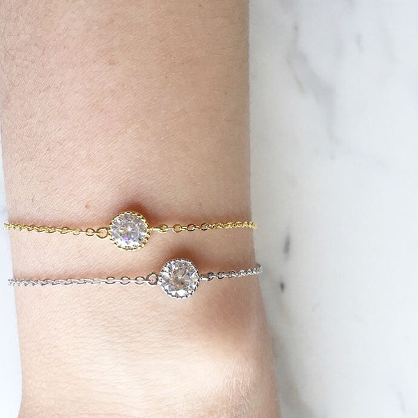 SINGLE DIAMOND BRACELET