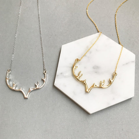 ANTLER NECKLACE
