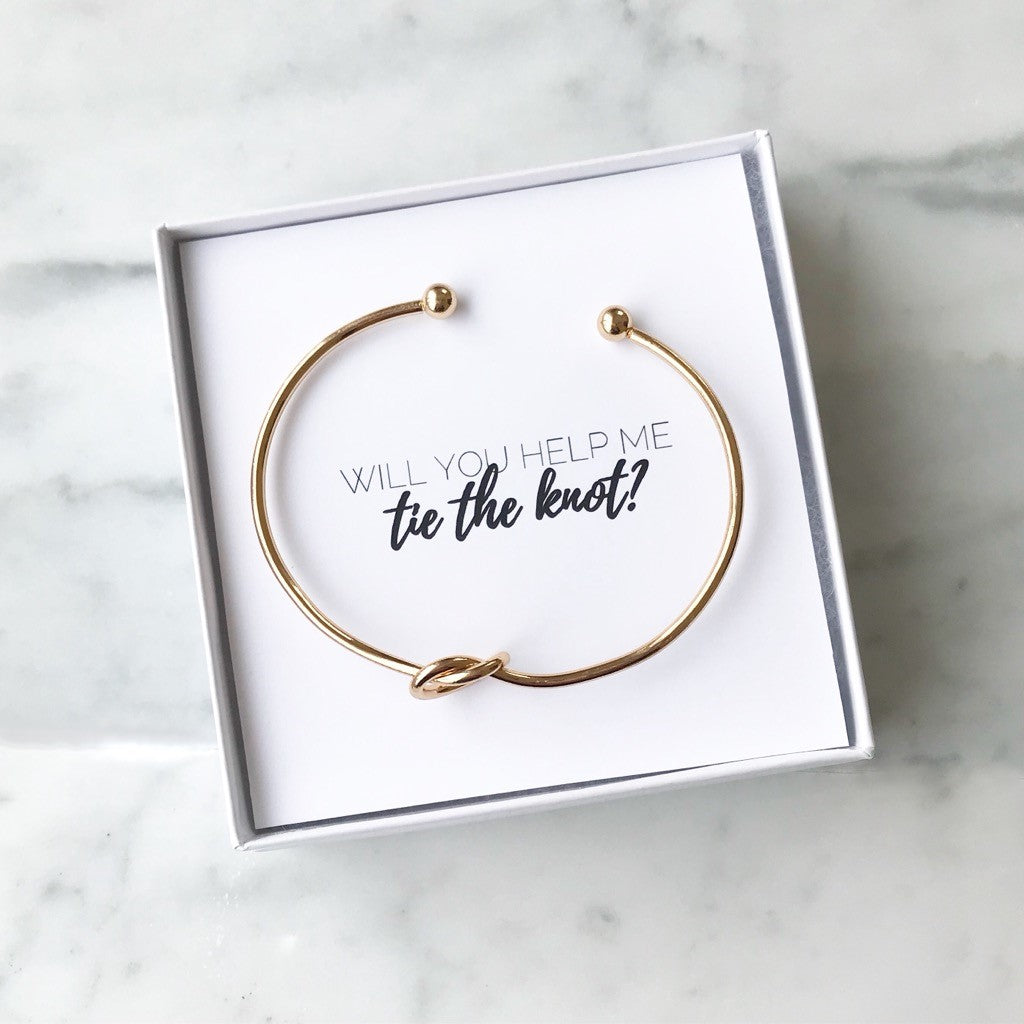 will you help me tie the knot bracelet