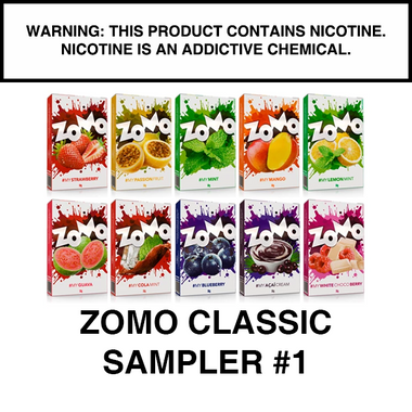 ZOMO Classic Flavors SAMPLER PACK #1