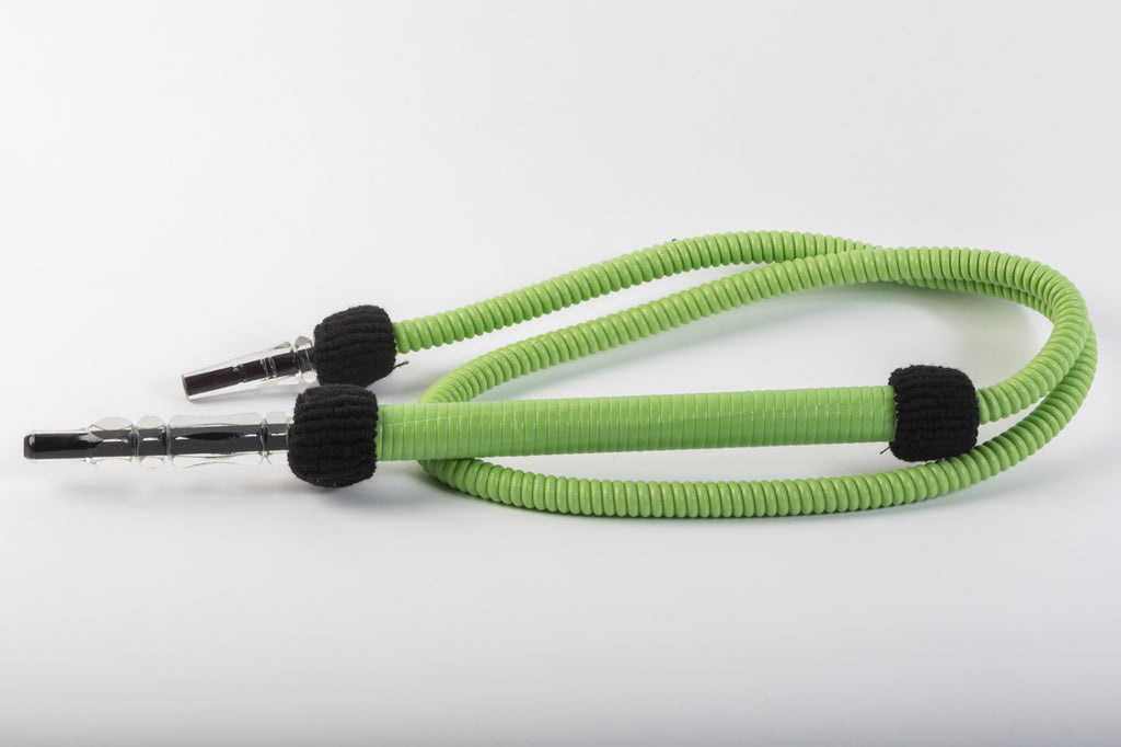 Green Washable Hookah Hose