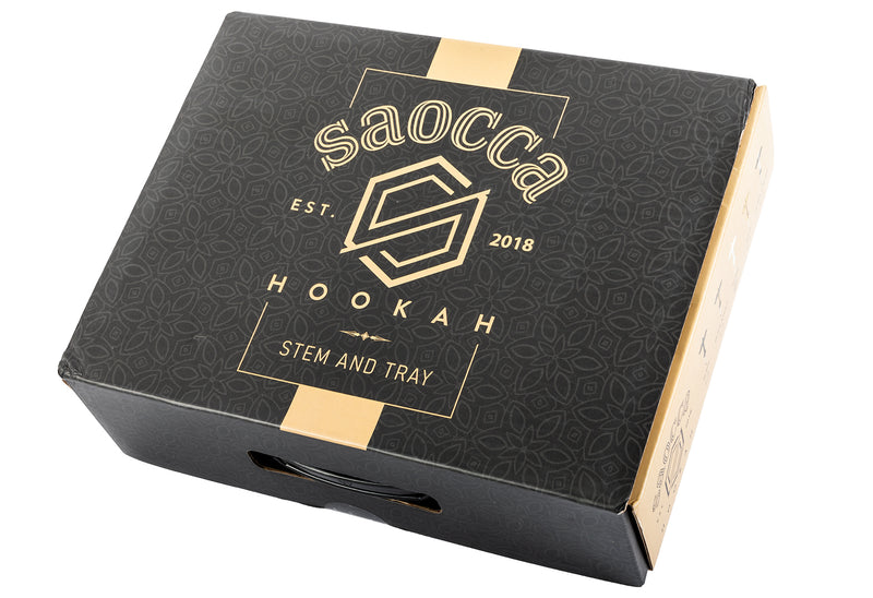 SAOCCA Hookah - Stem and Tray only