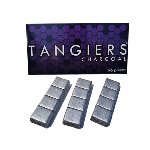 Tangiers Quick Light Hookah Coals - Silver Tab - 96ct