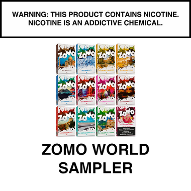 ZOMO WORLD LINE FLAVORS SAMPLER 12 pack
