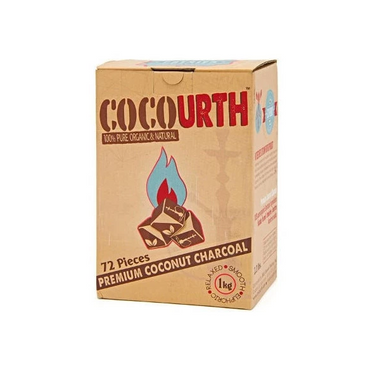 Cocourth Coconut Hookah Charcoal (Cube)