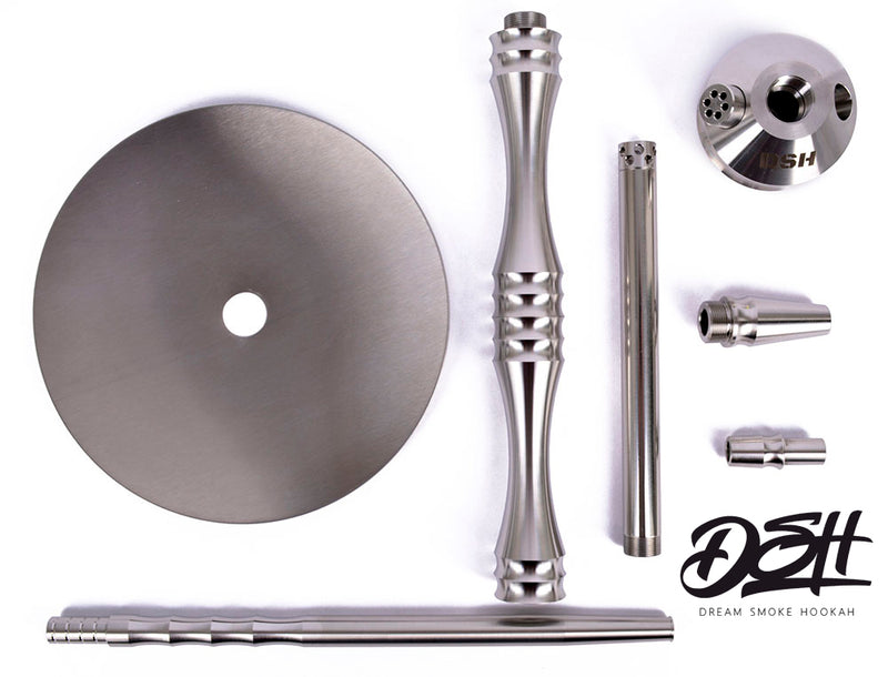 "DSH Mine ""Heavy"" Hookah Stem and Tray or Full Set"
