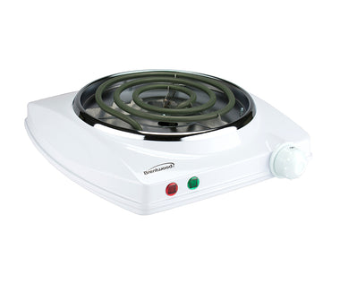 Premium 1000w Single Electric Burner White 322