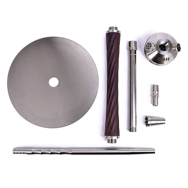 DSH WoodS OS Hookah Stem and Tray or Full Set