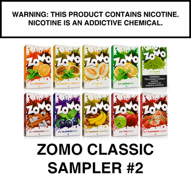 ZOMO Classic Flavors SAMPLER PACK #2