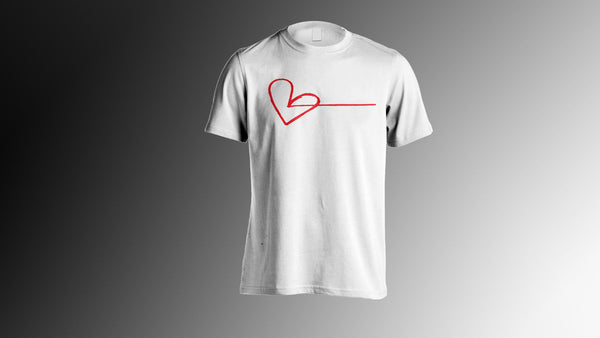 $25.00 WHITE LOVE FORWARD  BLACK  OR RED PLAIN HEART LOGO GRAPHIC T SHIRT SMALL MEDIUM LARGE XL XXL XXXL