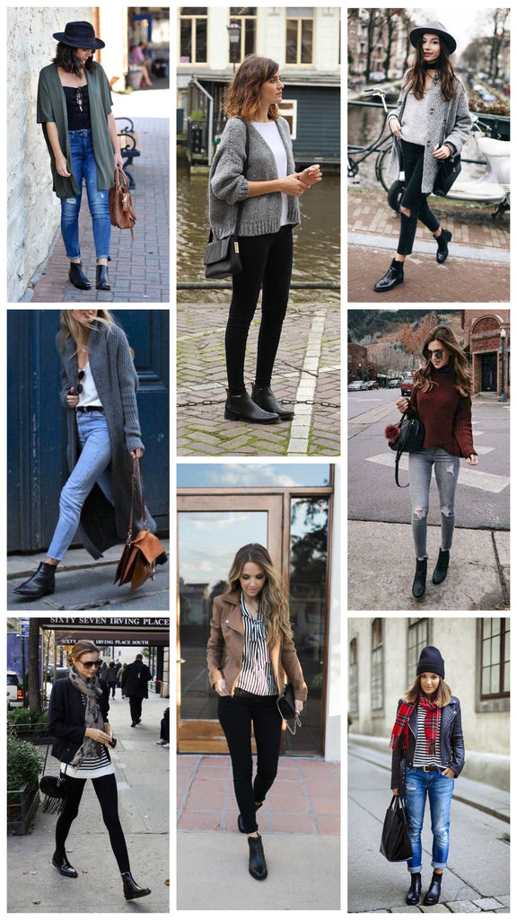 Black Bootie Outfit Ideas