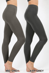 Ash Grey Seamless Leggings
