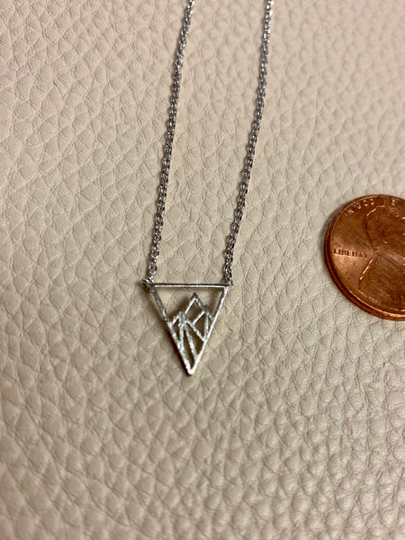Triangle Mountain Necklace