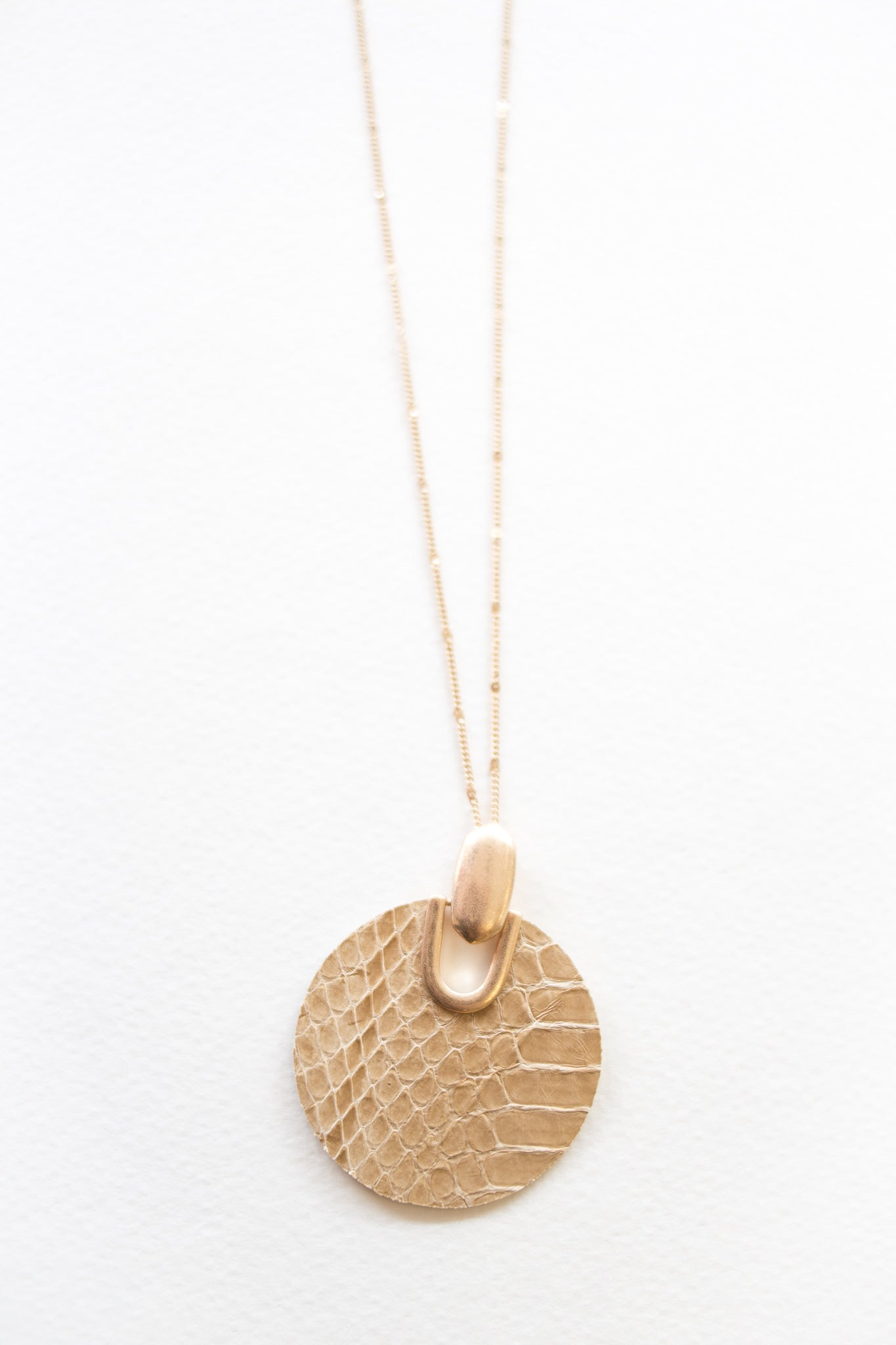 Calla Necklace Blanche