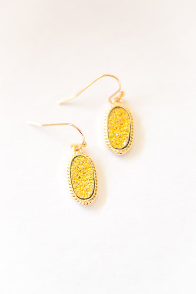 Ambroos Earrings Mustard