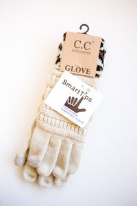 CC Smart Tip Gloves Leopard