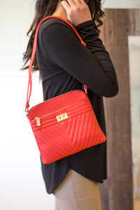 Take on the Day Crossbody in Red