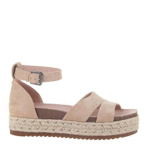 Champagne Wedge Sandal