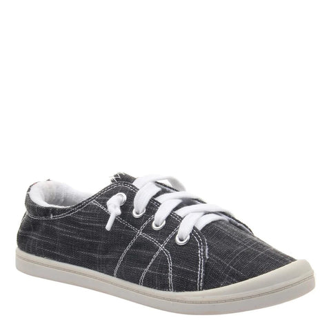 Charcoal Canvas Sneakers