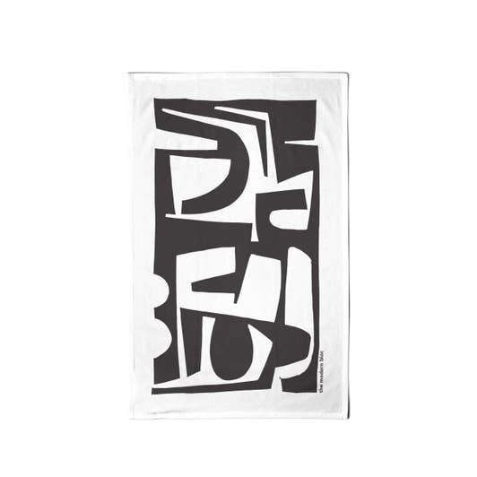 Modern Forms Tea Towel