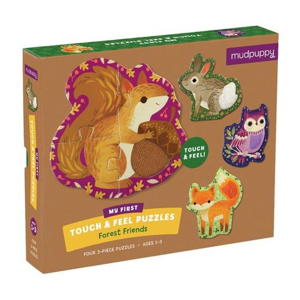 Forest Friends Touch & Feel Puzzle