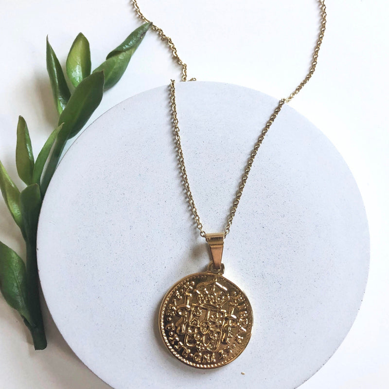 Natalie Clare - Coin Necklace