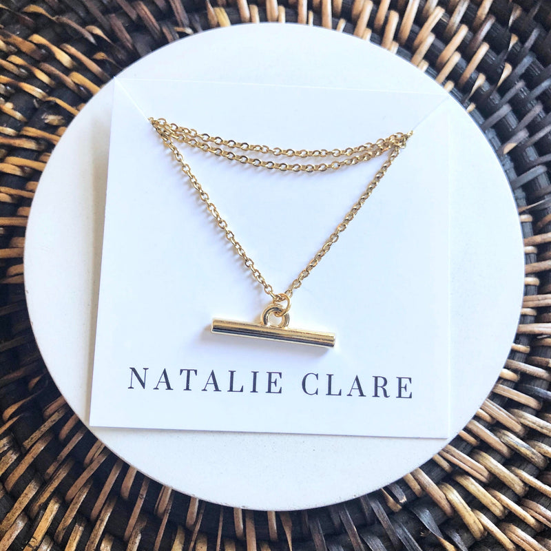 Natalie Clare - Bar Necklace