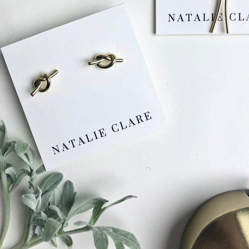 Natalie Clare Knot Earrings