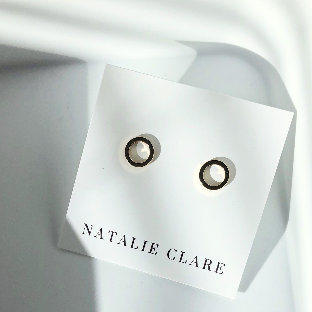 Natalie Clare - Hollow Stud Earrings