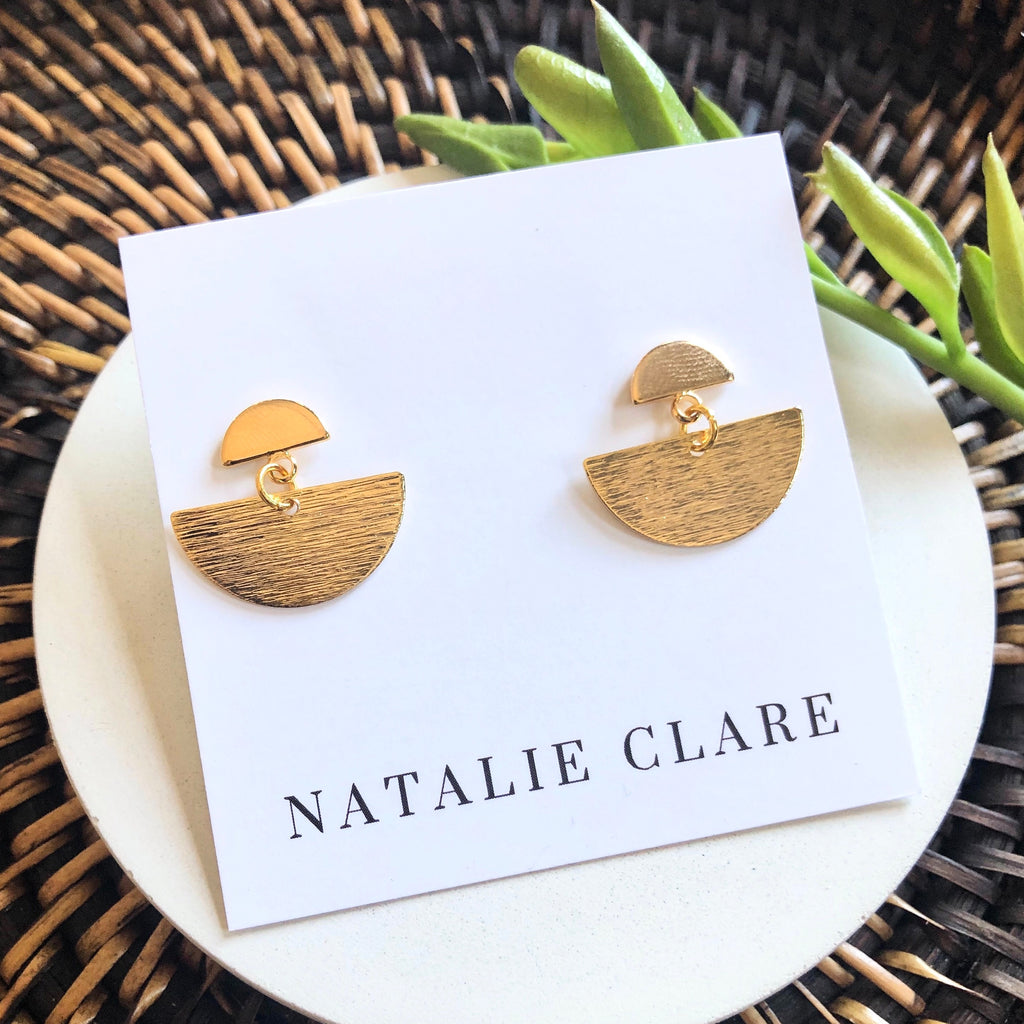Natalie Clare - Sailboat Earrings