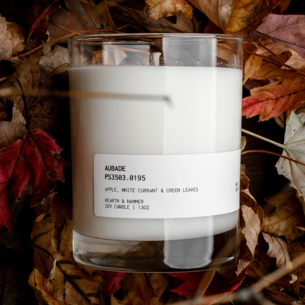 Aubade Catalogue Literary Candle