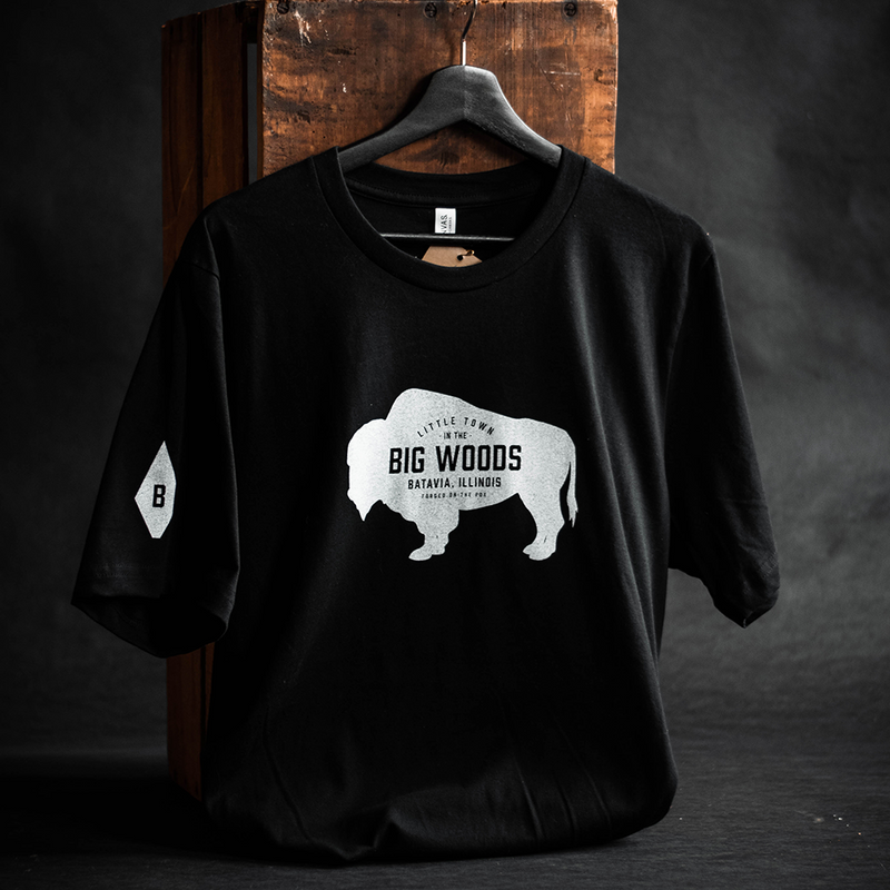 """Little Town in the Big Woods"" Unisex T-Shirt 
