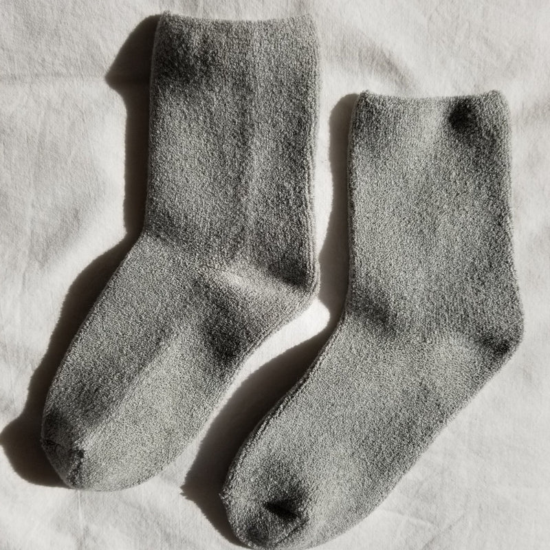 Heather Grey Cloud Socks