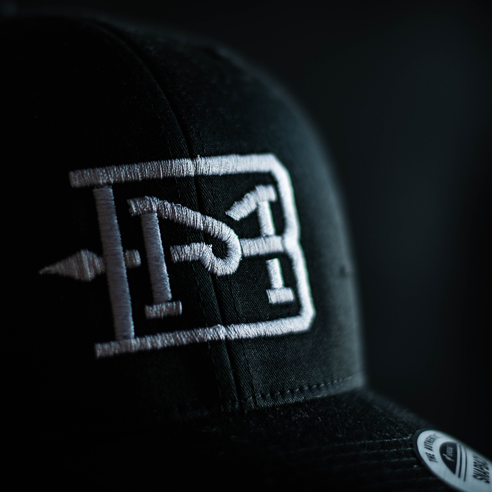 BM Black & White Trucker Snapback | Batavia Made