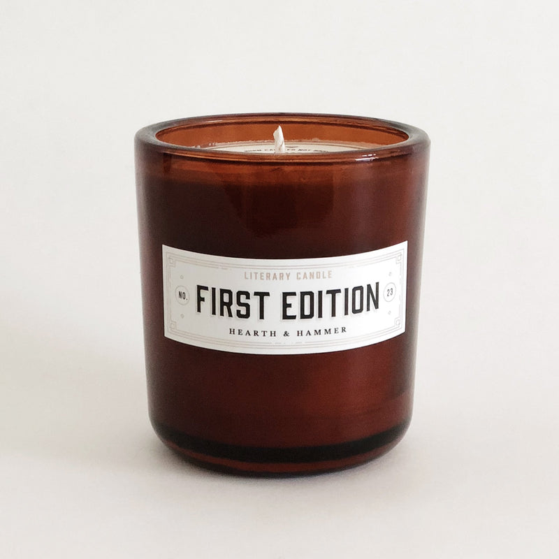 First Edition Literary Soy Candle