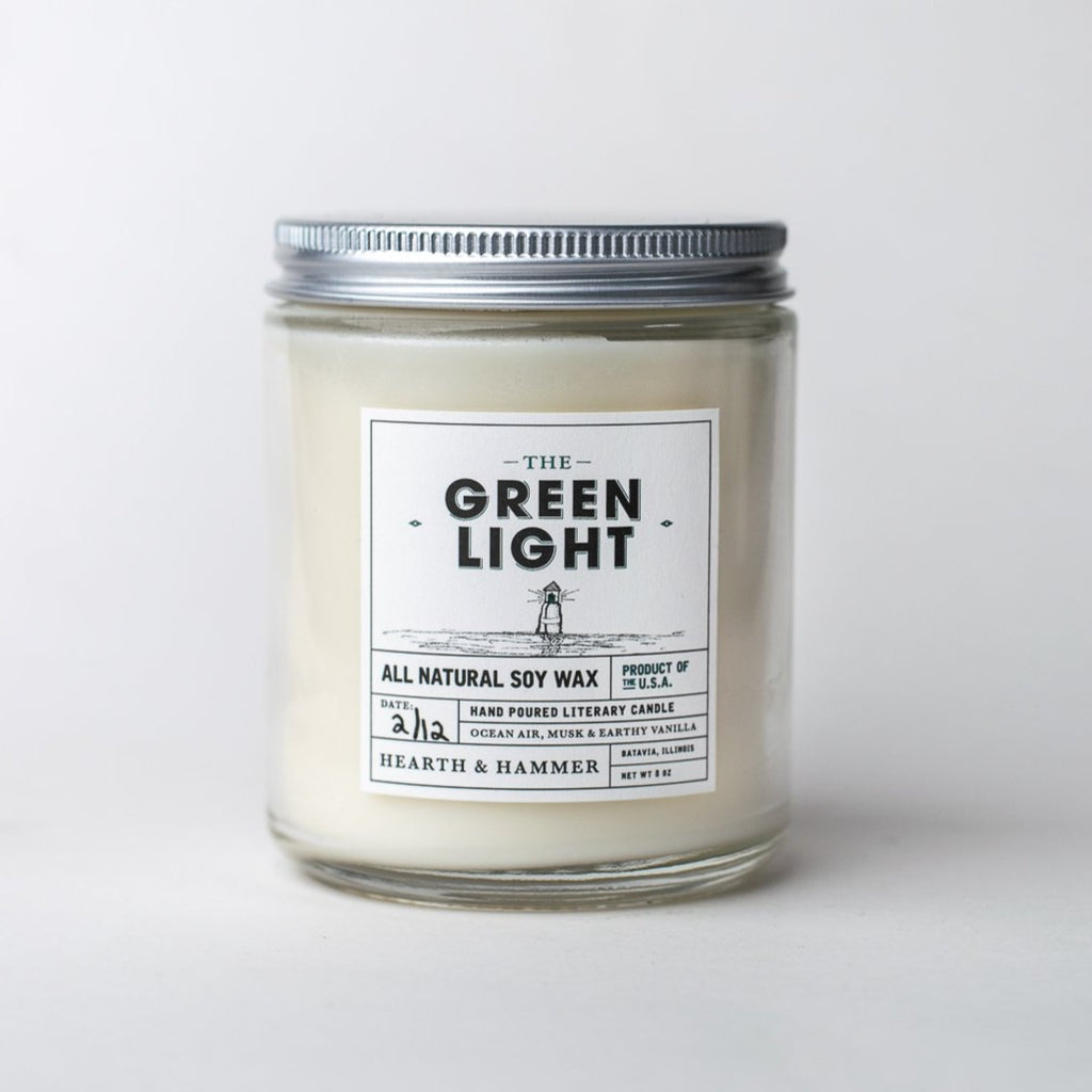 The Green Light Literary Soy Candle