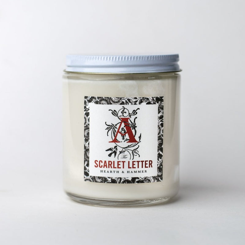The Scarlet Letter Literary Soy Candle