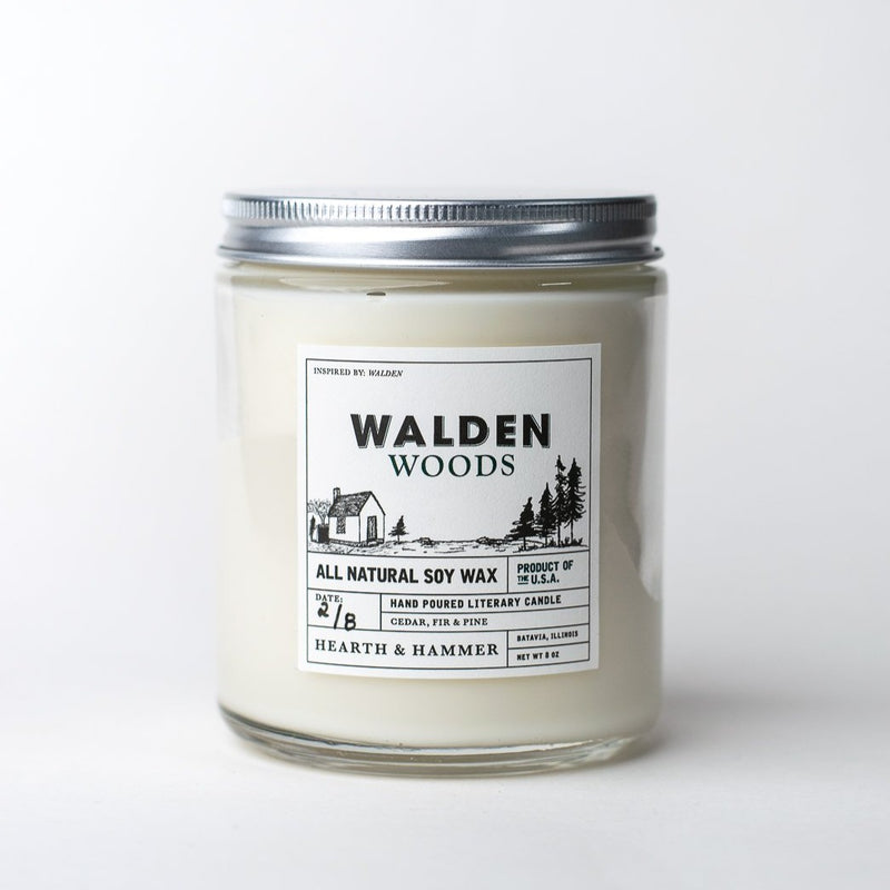 Walden Woods Literary Soy Candle