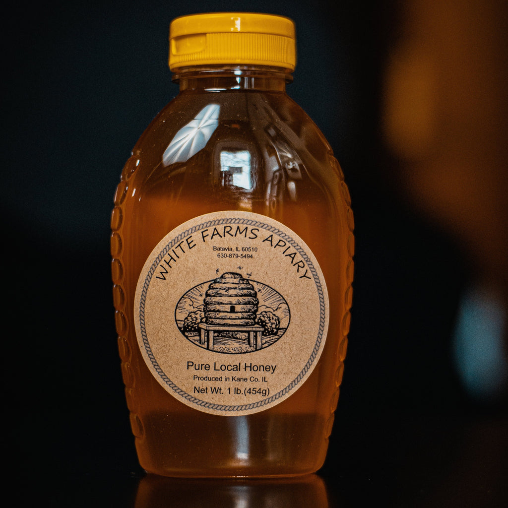 White Farms Apiary Honey 1.0lb