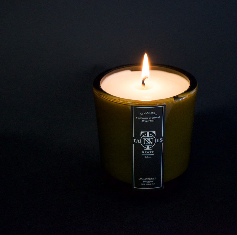 Tannis Root Literary Candle