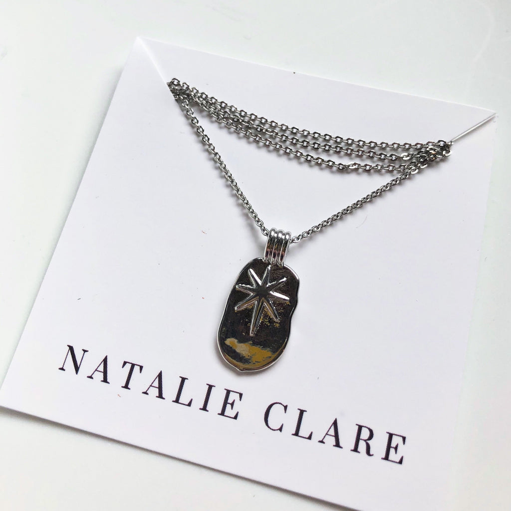 Natalie Clare - Silver Star Necklace