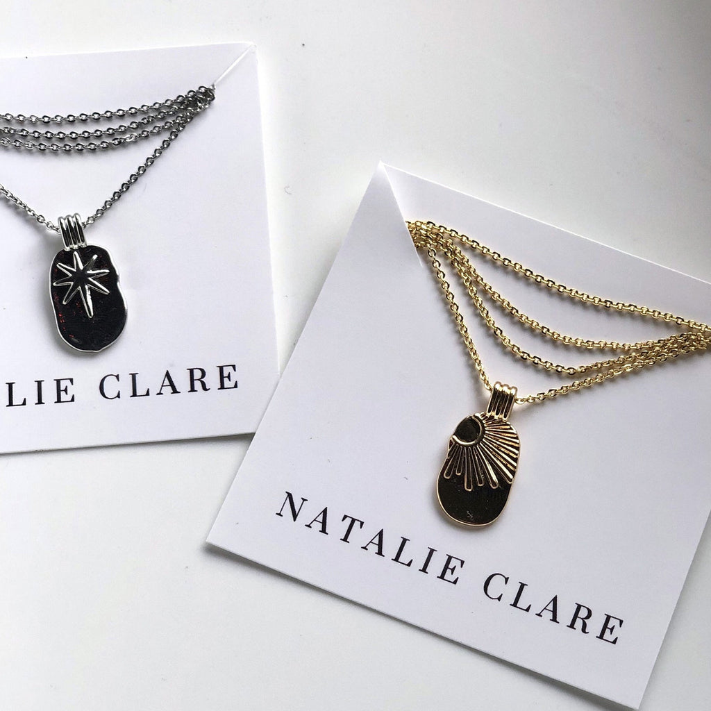 Natalie Clare - Golden Sun Necklace